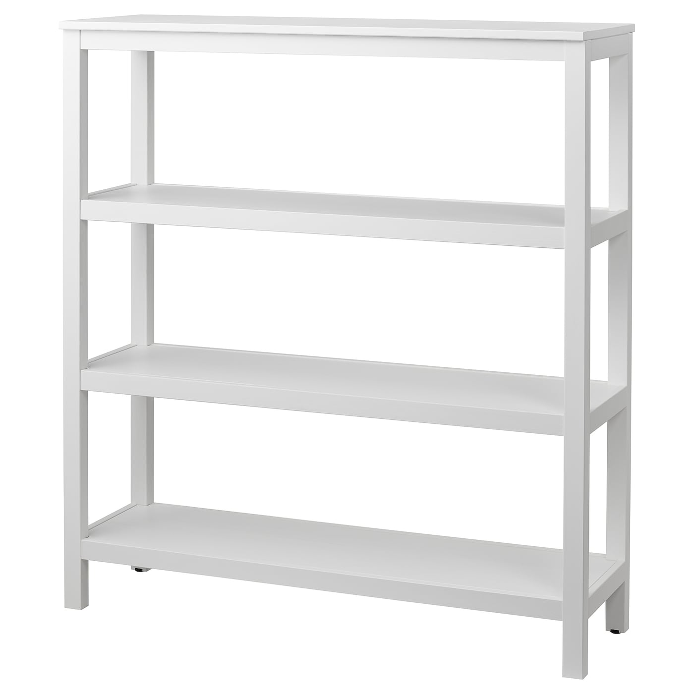 hemnes shelving unit white stain 120x130 cm ikea. Black Bedroom Furniture Sets. Home Design Ideas