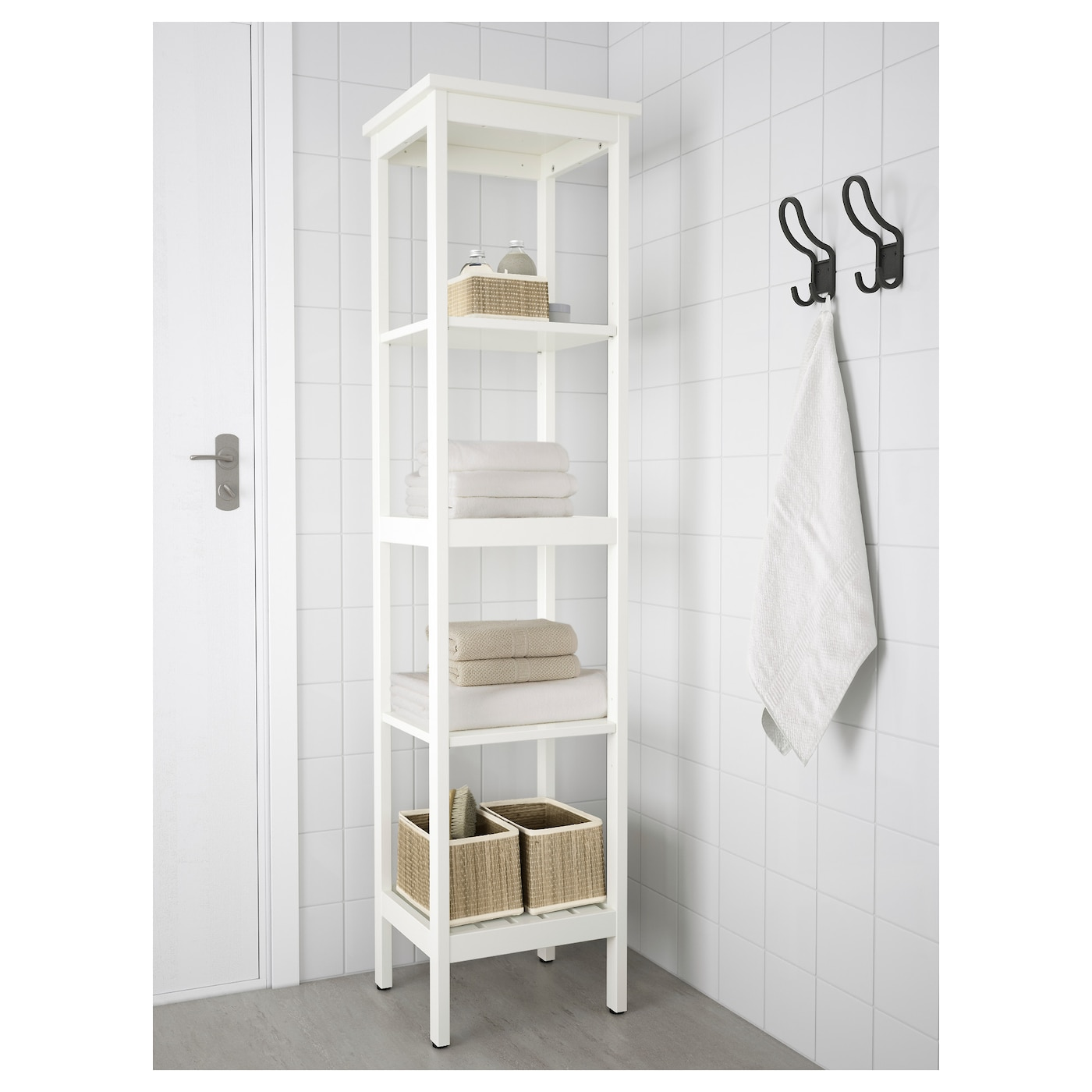 hemnes shelving unit white 42 x 172 cm ikea. Black Bedroom Furniture Sets. Home Design Ideas