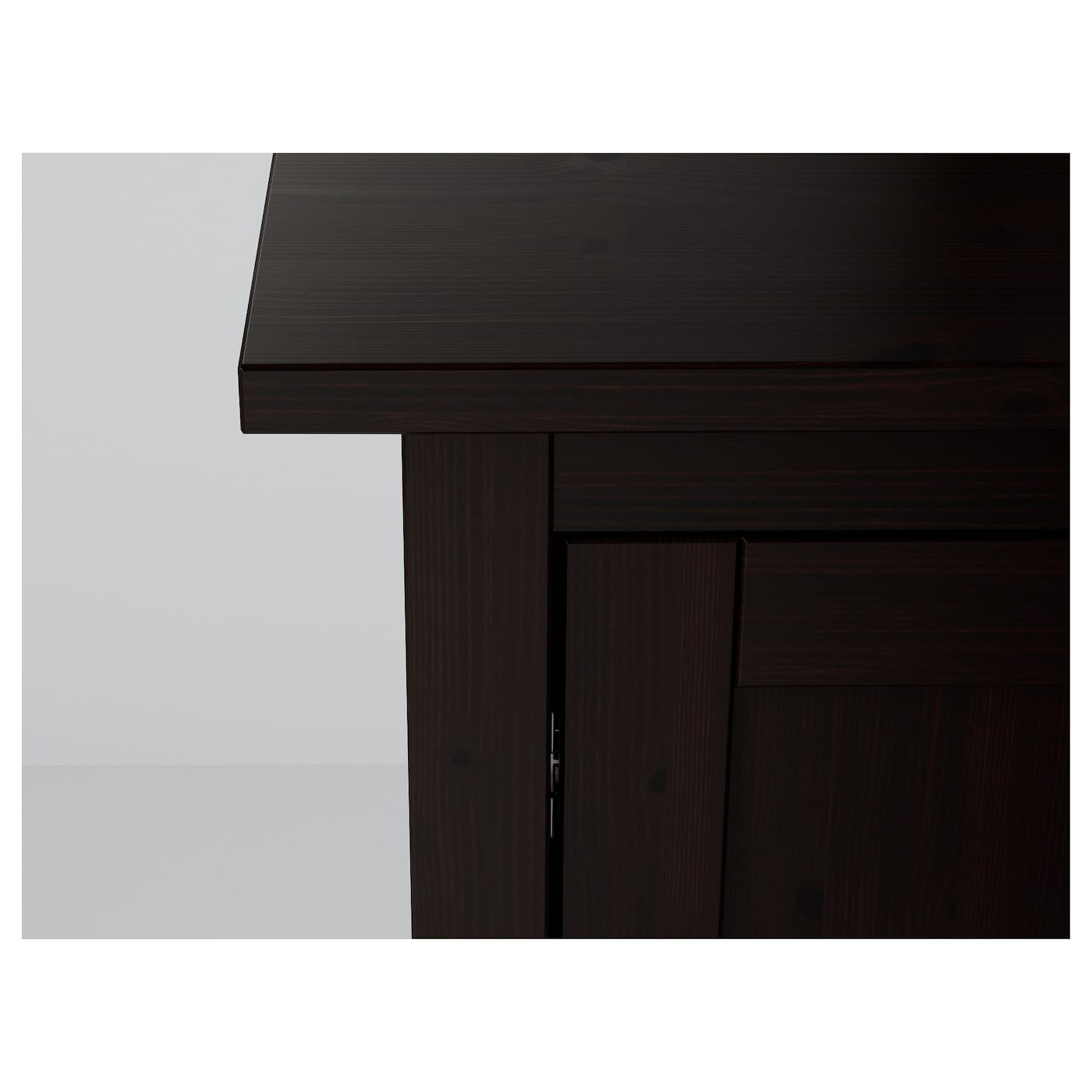 hemnes sideboard black brown 157 x 88 cm ikea. Black Bedroom Furniture Sets. Home Design Ideas