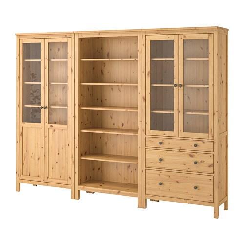 Ikea Hemnes Storage Combination W Doors Drawers 1 Fixed Shelf For High Ility