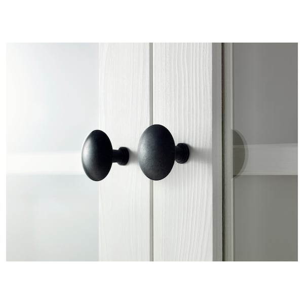 HEMNES Storage combination w doors/drawers, white stain, 270x197 cm