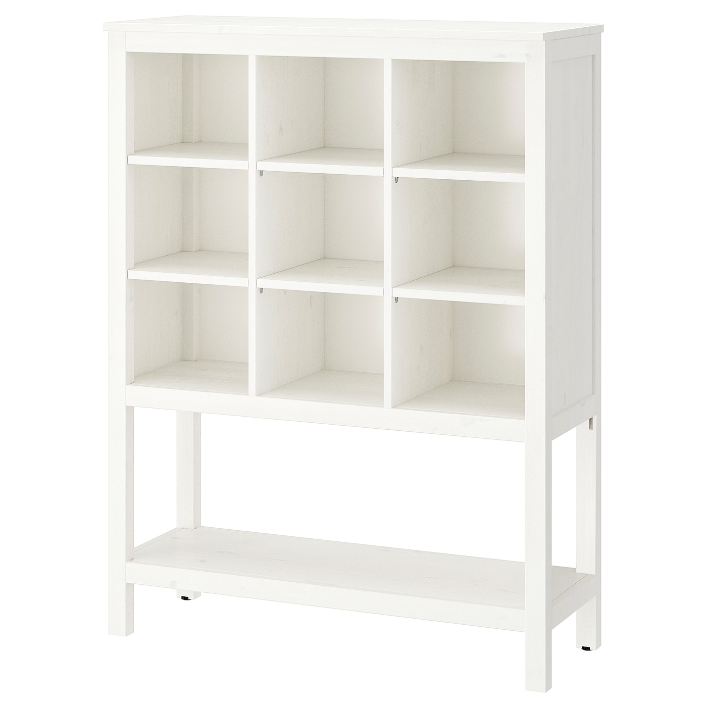 Hemnes storage unit white stained 99 x 130 x 37 cm ikea - Mueble tv hemnes ...