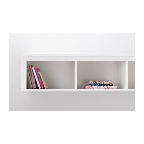 Hemnes Wall Bridging Shelf White Stain 149x37 Cm Ikea