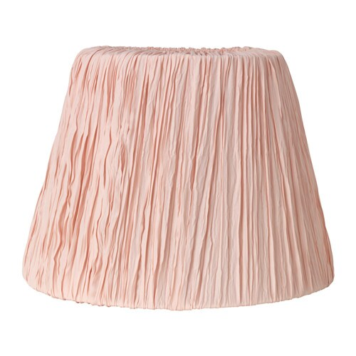 IKEA HEMSTA lamp shade The textile shade provides a diffused and decorative light.