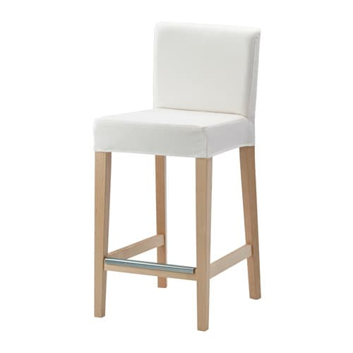 Henriksdal Cover For Bar Stool With Backrest