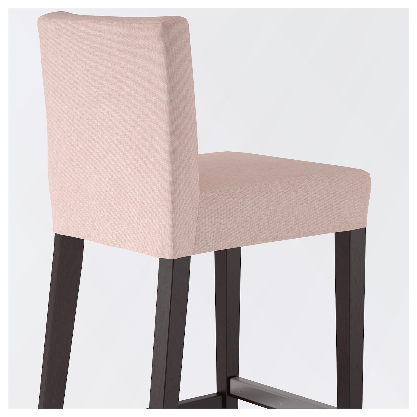 HENRIKSDAL Bar stool with backrest Brown blackgunnared  : henriksdal bar stool with backrest brown black gunnared pale pink0503490pe632708s5 from www.ikea.com size 2000 x 2000 jpeg 581kB
