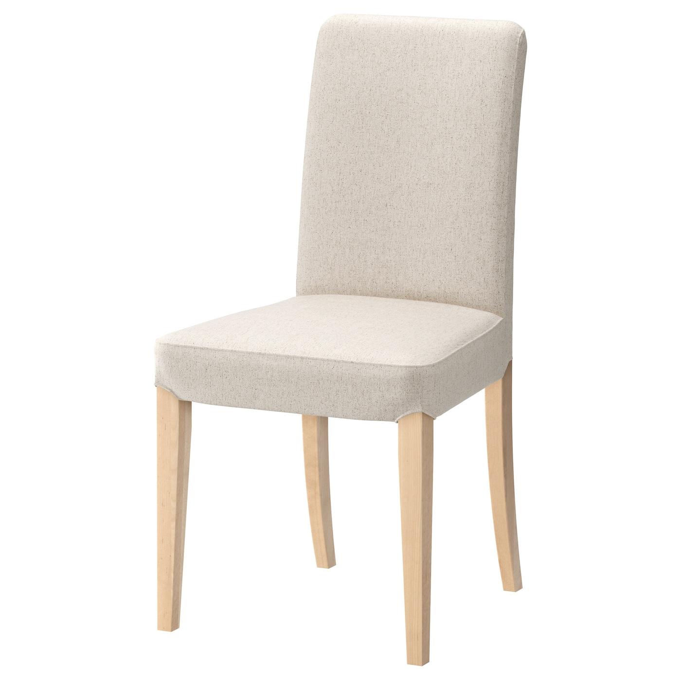 Henriksdal chair birch linneryd natural ikea - Sedia sospesa ikea ...