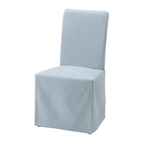 Henriksdal chair cover long ikea - Housse chaise henriksdal ...