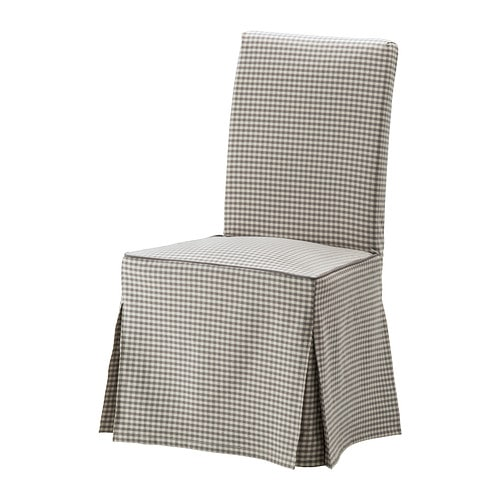 HENRIKSDAL Chair cover long IKEA : henriksdal chair cover long grey0269369PE407047S4 from www.ikea.com size 500 x 500 jpeg 43kB