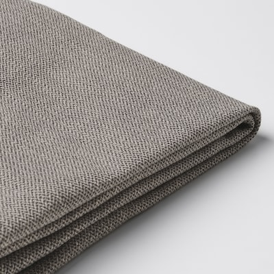 HENRIKSDAL Chair cover, Nolhaga grey-beige