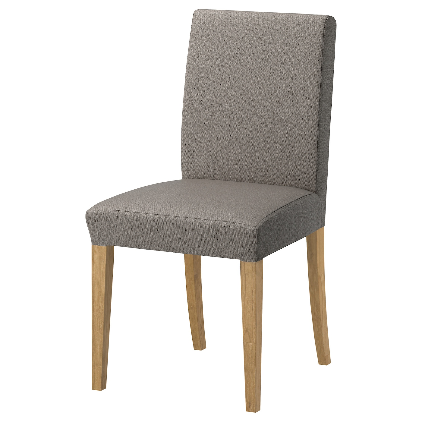 henriksdal chair oak nolhaga grey beige ikea. Black Bedroom Furniture Sets. Home Design Ideas