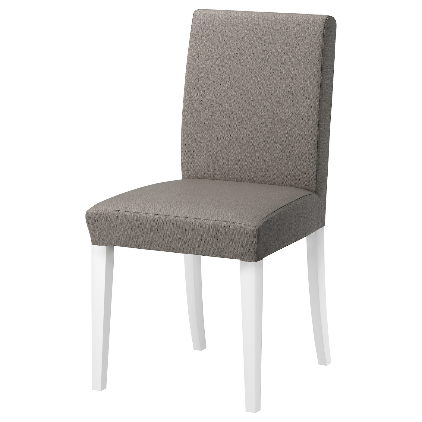 henriksdal chair white nolhaga grey beige ikea. Black Bedroom Furniture Sets. Home Design Ideas