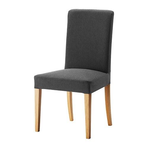 HENRIKSDAL Chair Dansbo Dark Grey IKEA
