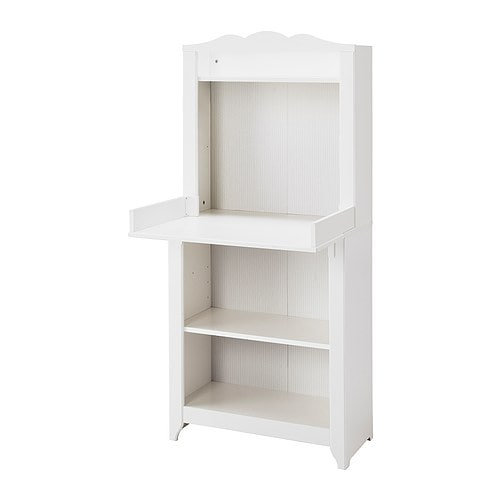 HENSVIK Changing table/cabinet IKEA Converts to a shelf unit when the changing table is no longer needed.
