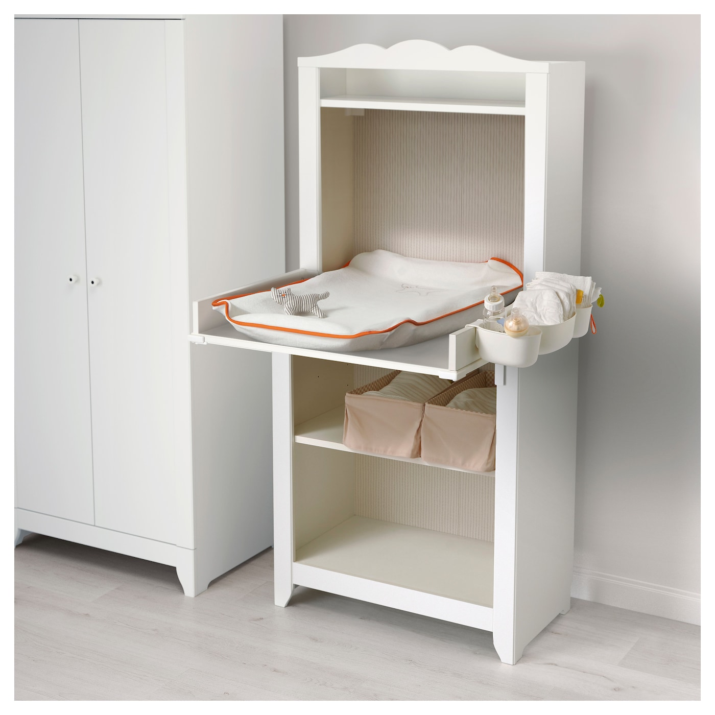 HENSVIK Changing table top White - IKEA