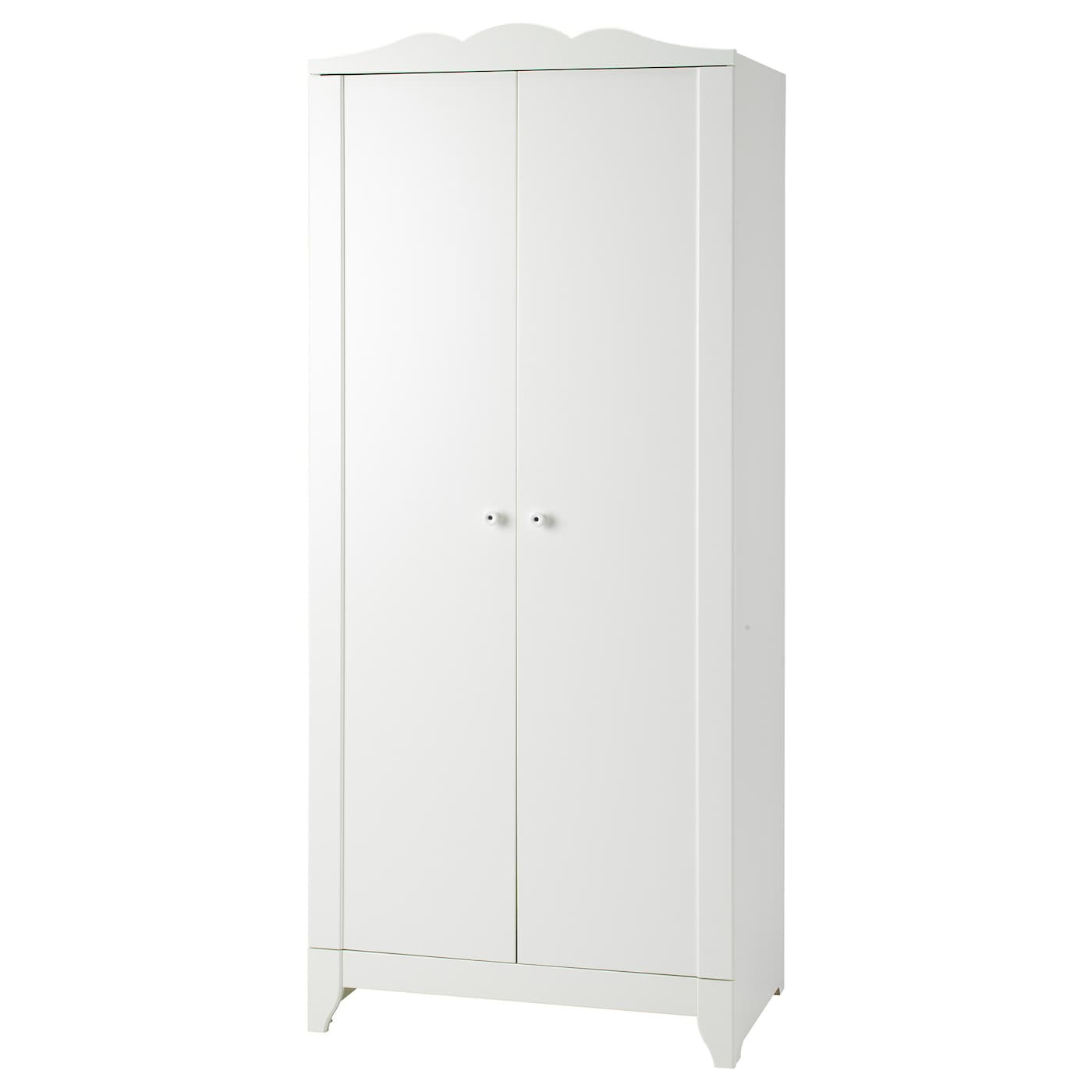 hensvik wardrobe white 75x174 cm ikea. Black Bedroom Furniture Sets. Home Design Ideas