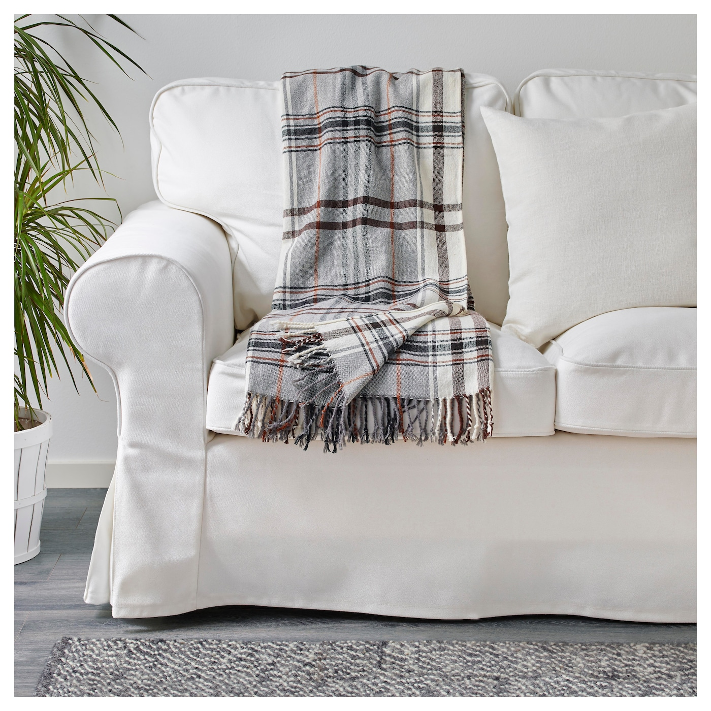 IKEA HERMINE throw