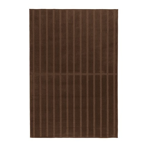 HERRUP Rug, low pile IKEA Durable, stain resistant and easy to care for since the rug is made of synthetic fibres.