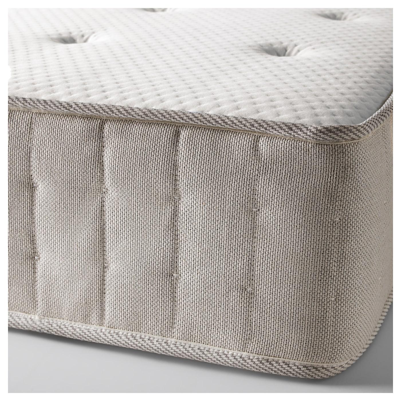 hesseng pocket sprung mattress medium firm natural colour 160x200 cm ikea. Black Bedroom Furniture Sets. Home Design Ideas