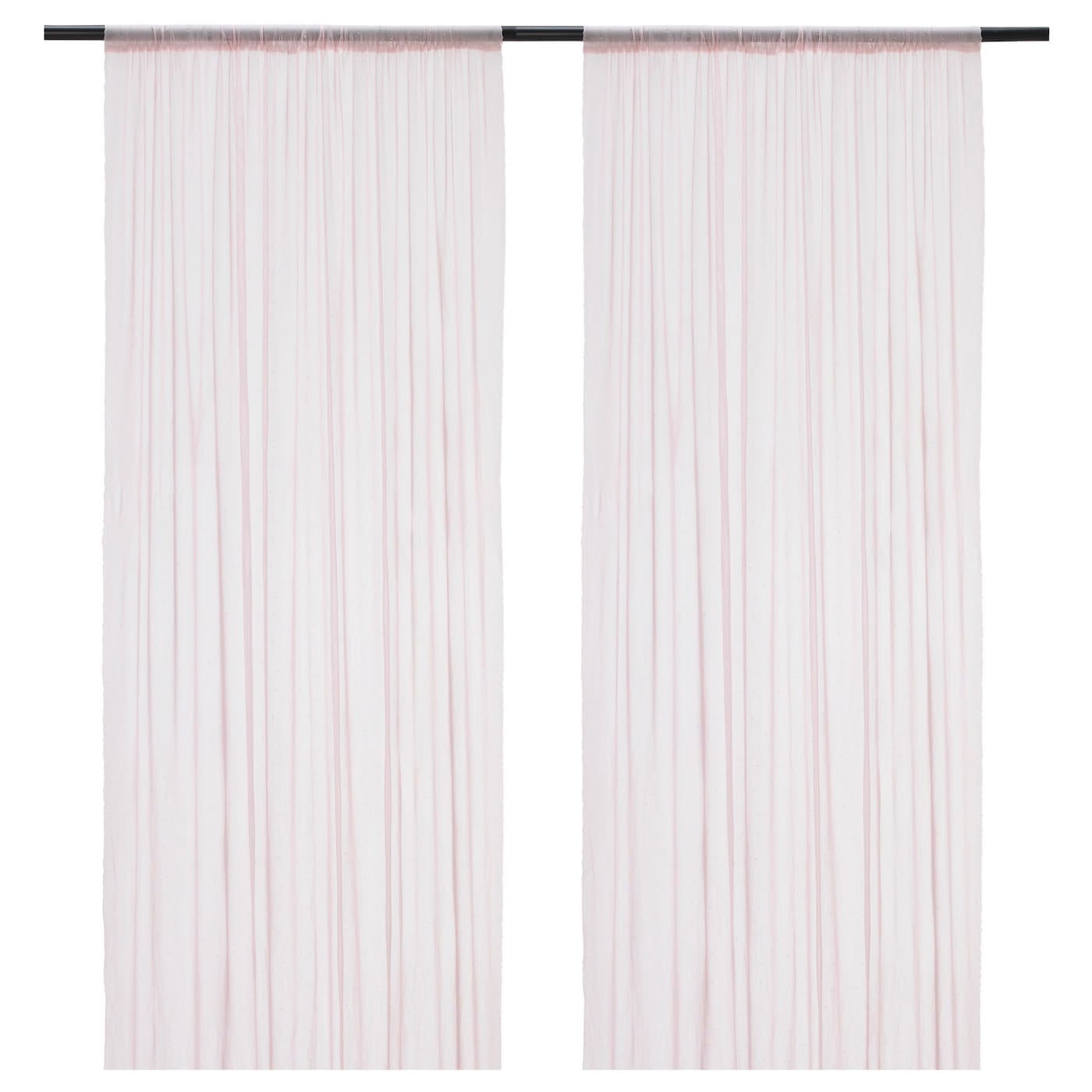 IKEA HILDRUN sheer curtains, 1 pair