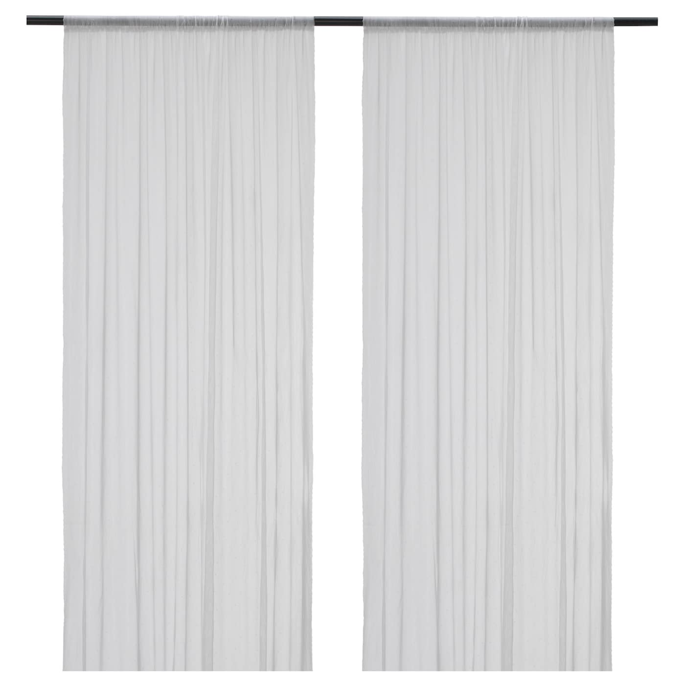 IKEA HILDRUN Sheer Curtains 1 Pair
