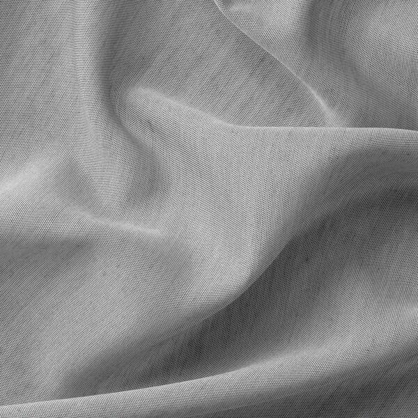 HILJA Curtains, 1 pair, grey, 145x250 cm