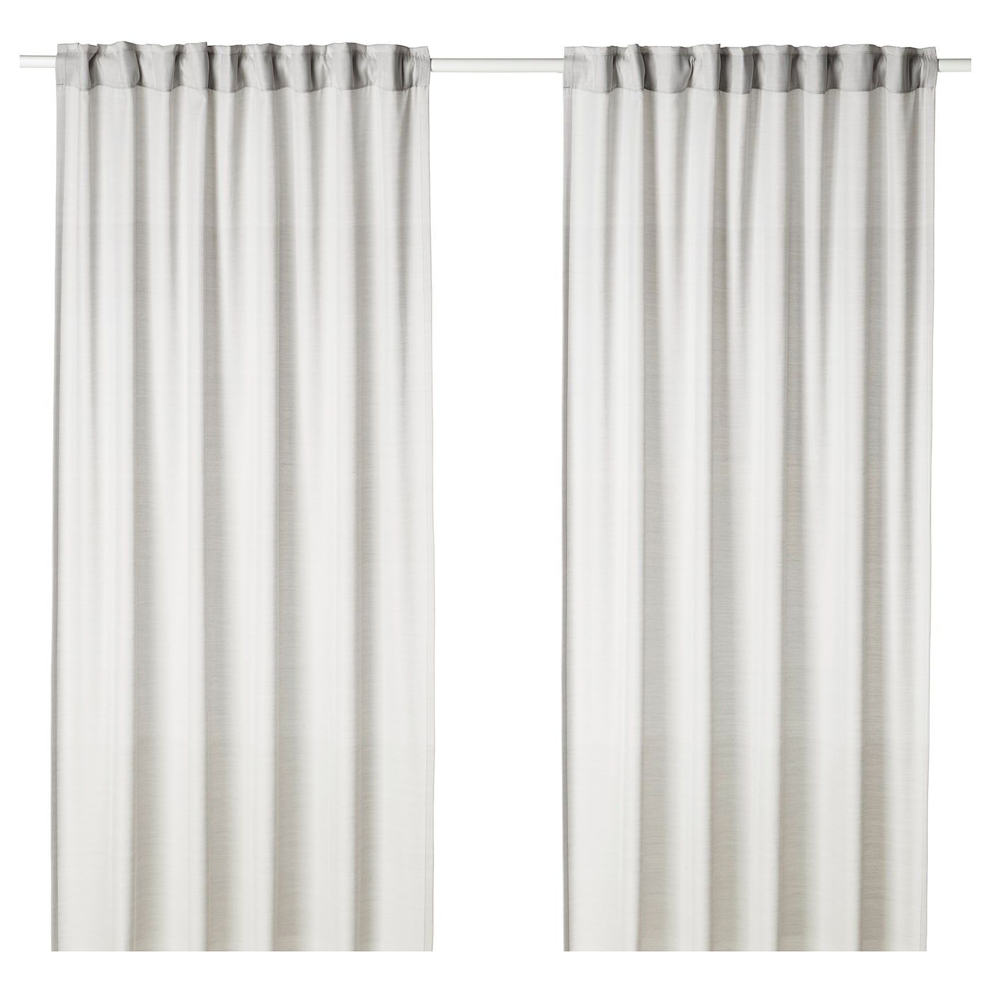 IKEA HILJA Curtains 1 Pair The Can Be Used On A Curtain Rod Or