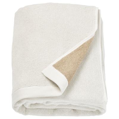 HIMLEÅN Bath sheet, beige/mélange, 100x150 cm