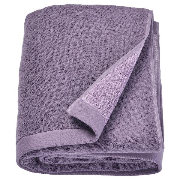HIMLEÅN Bath sheet, lilac/mélange, 100x150 cm