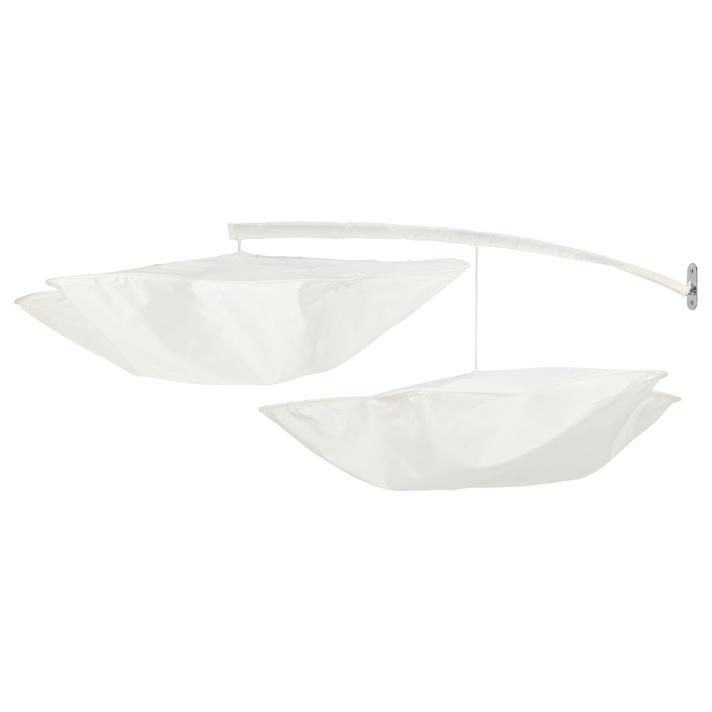 IKEA HIMMELSK bed canopy Filters the light, creates an atmosphere without blacking out.