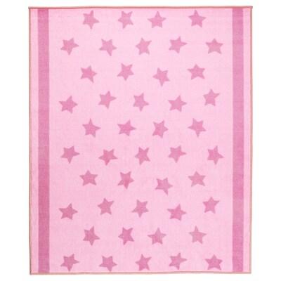 HIMMELSK Rug, pink, 133x160 cm