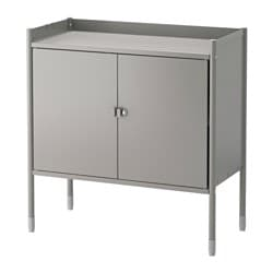 Ikea HindÖ Cabinet In Outdoor Also Stands Steady On An Uneven Floor Since The Feet