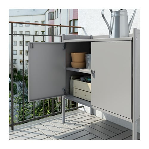 ikea outdoor kitchen cabinets hind 214 cabinet in outdoor grey 78x82 cm ikea 17723