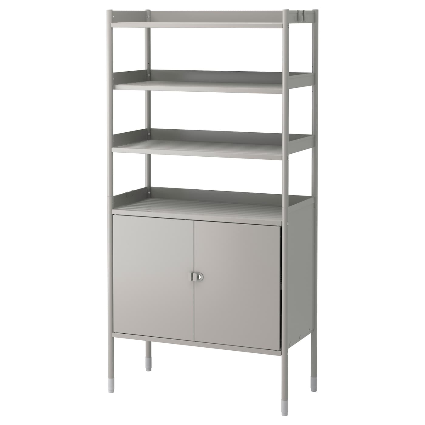 hind cabinet w shelving unit in outdoor grey 78x158 cm ikea. Black Bedroom Furniture Sets. Home Design Ideas