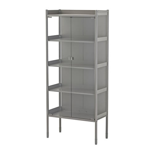 Metal cabinets garden storage cabinets ikea for Metal lockers ikea