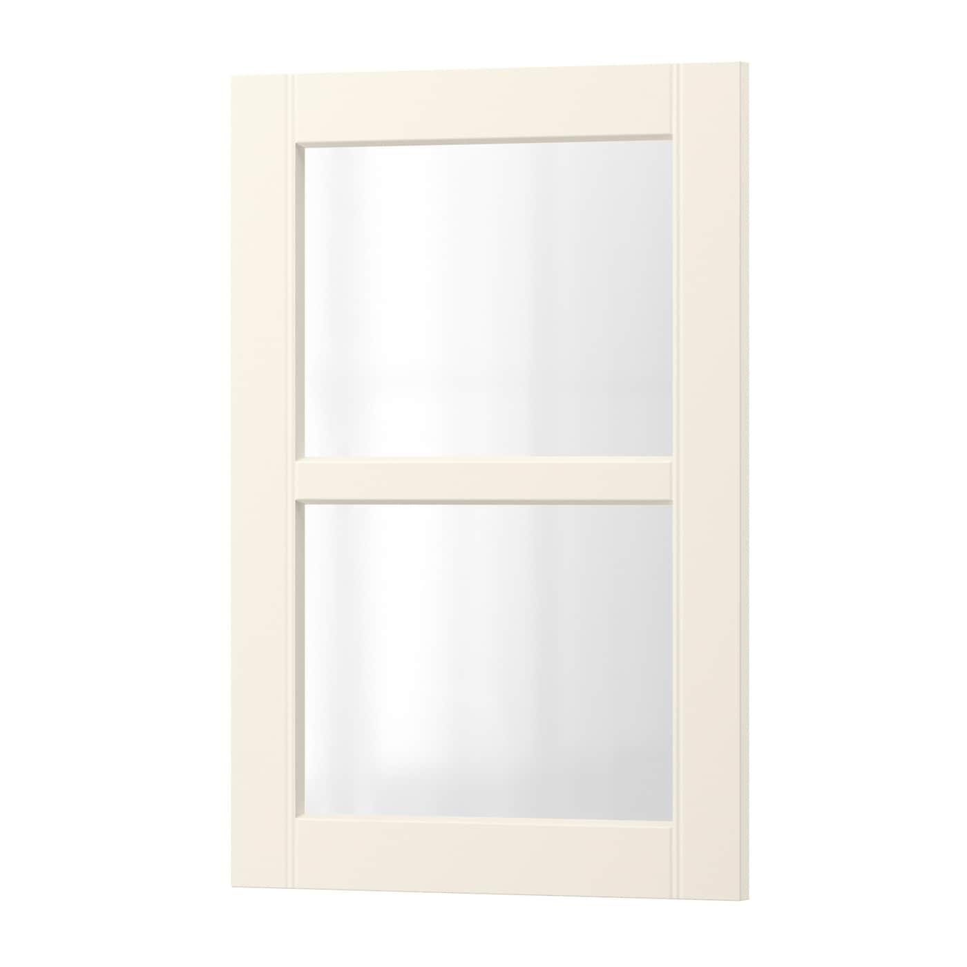 Ikea Door Style Of The Week Hittarp: HITTARP Glass Door Off-white 40 X 60 Cm
