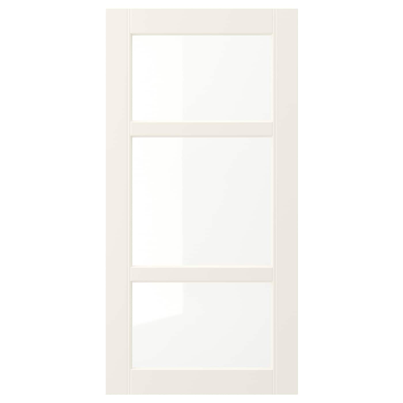 IKEA HITTARP glass door 25 year guarantee. Read about the terms in the guarantee brochure.