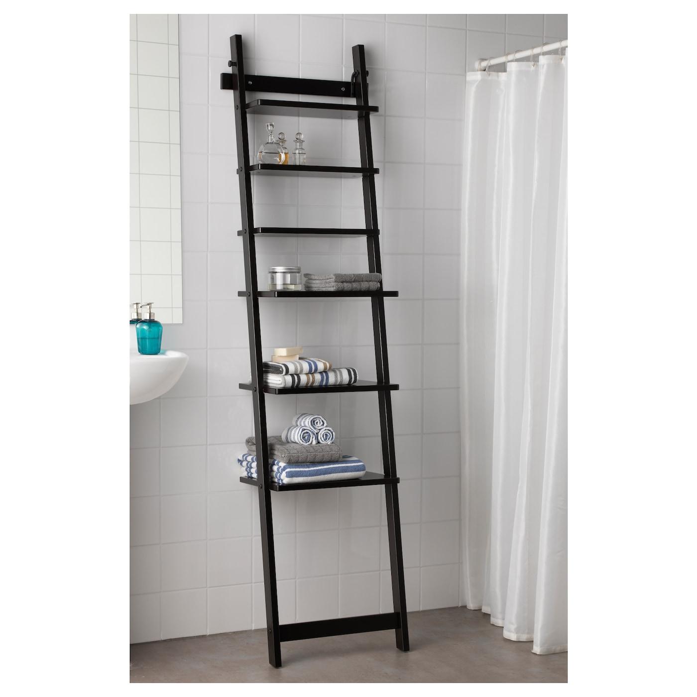 hj lmaren wall shelf black brown 190 cm ikea. Black Bedroom Furniture Sets. Home Design Ideas