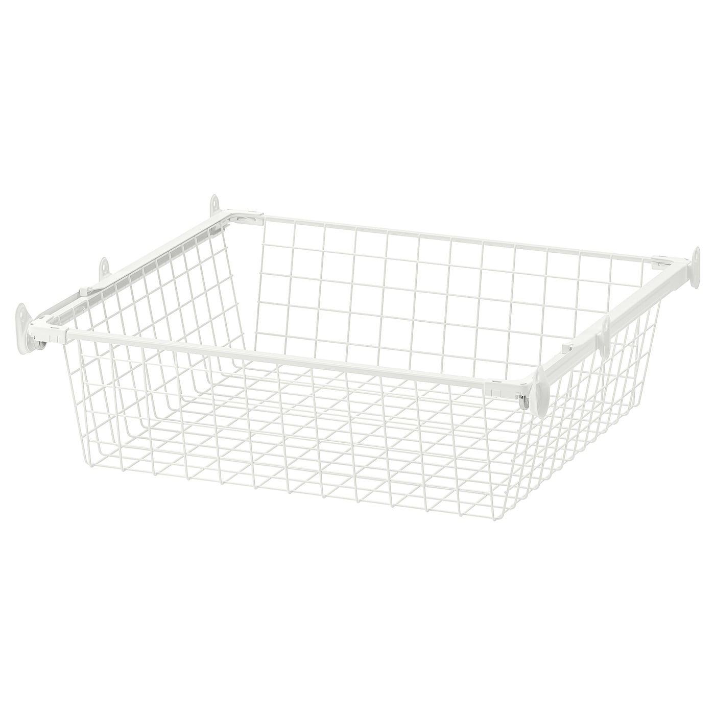 IKEA HJÄLPA wire basket with pull-out rail