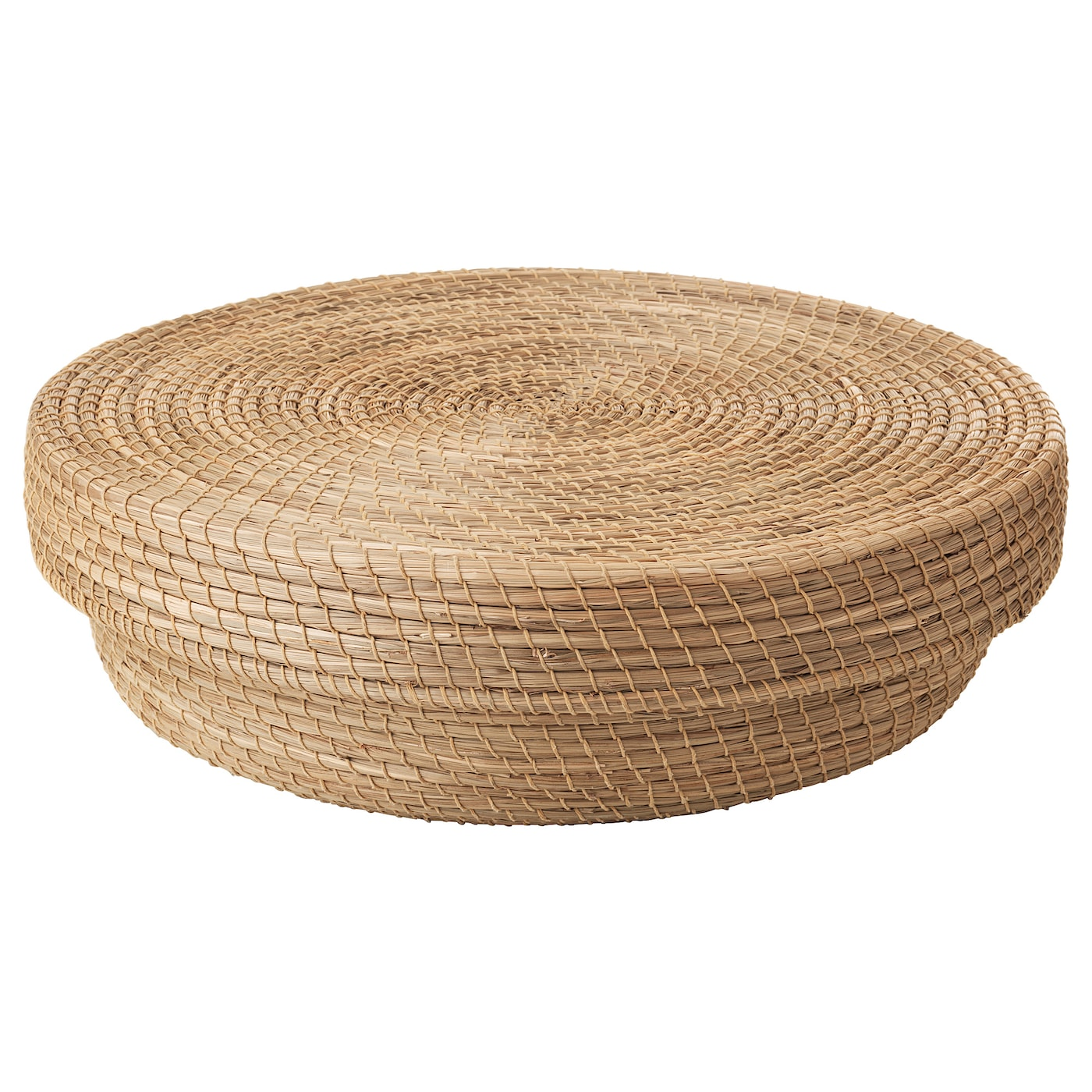IKEA HJÄRTELIG basket with lid Each basket is woven by hand and is therefore unique.