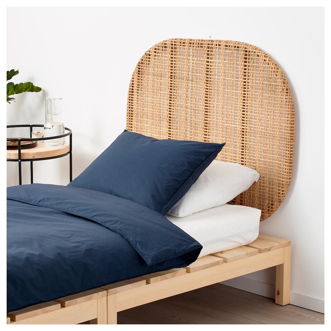 hj rtelig headboard rattan wall mounted 100 cm ikea. Black Bedroom Furniture Sets. Home Design Ideas