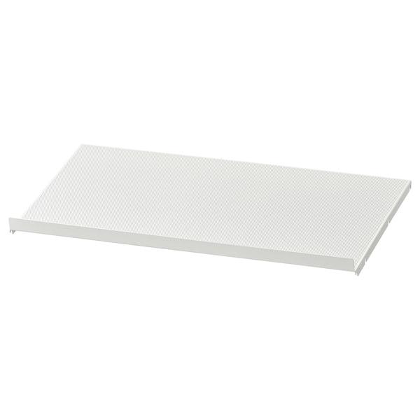 HJÄLPA Shoe shelf, white, 80x40 cm