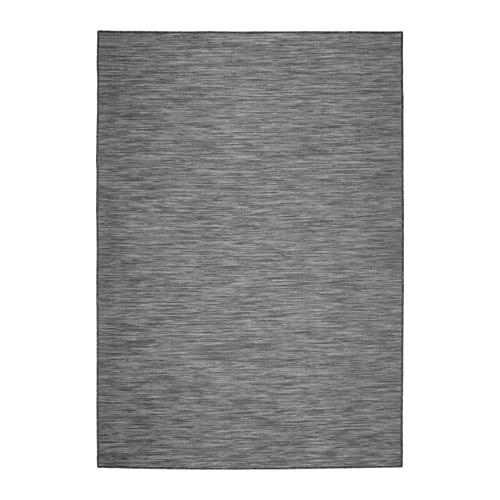 hodde rug flatwoven in outdoor grey black 160x230 cm ikea. Black Bedroom Furniture Sets. Home Design Ideas