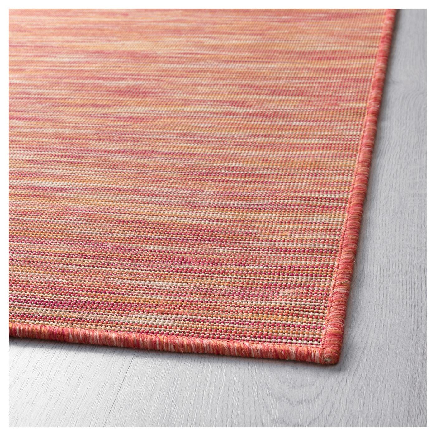Ikea Waterproof Rug: HODDE Rug, Flatwoven In/outdoor Pink 160x230 Cm