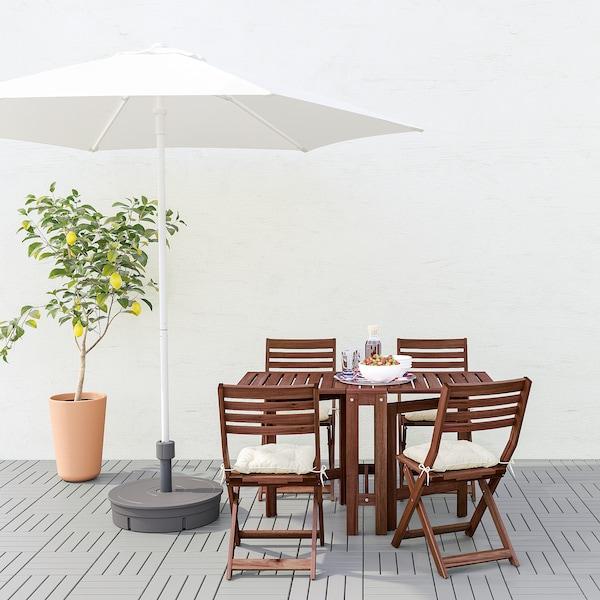 HÖGÖN Parasol, white, 270 cm