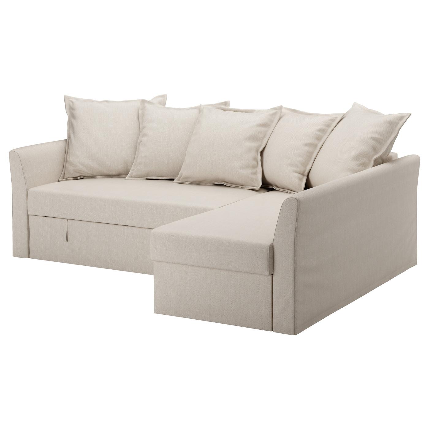 holmsund corner sofa bed nordvalla beige ikea. Black Bedroom Furniture Sets. Home Design Ideas