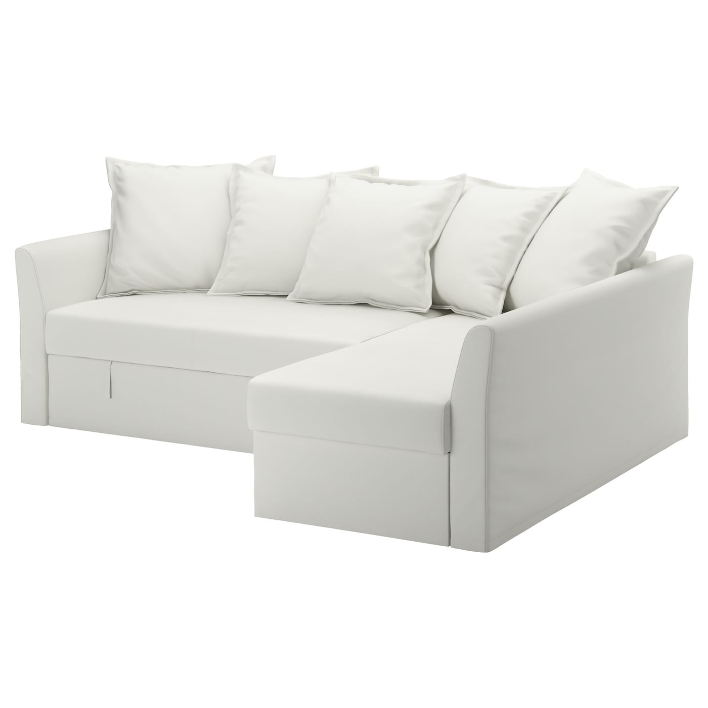 holmsund corner sofa bed ransta white ikea. Black Bedroom Furniture Sets. Home Design Ideas
