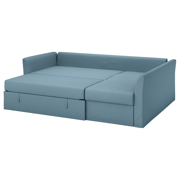 Holmsund Gräsbo Light Blue Corner Sofa