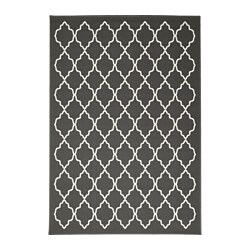Ikea Hovslund Rug Low Pile Easy To Vacuum Thanks Its Flat Surface