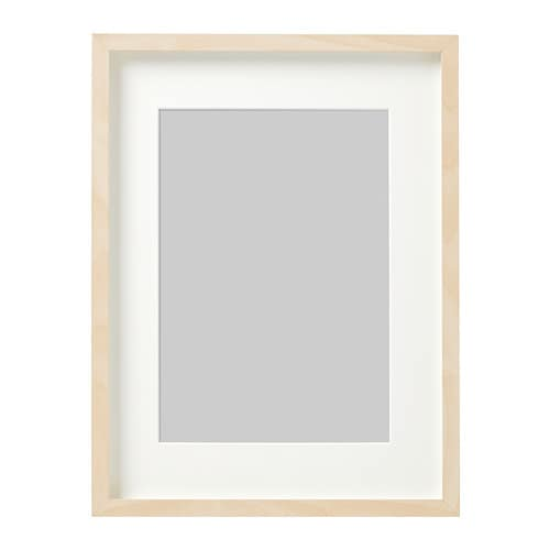 Hovsta Frame Birch Effect 30 X 40 Cm Ikea